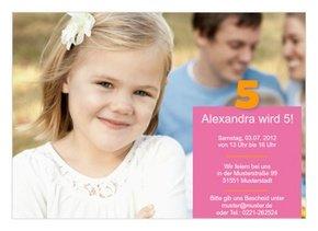 Einladung Kindergeburtstag Alexa
