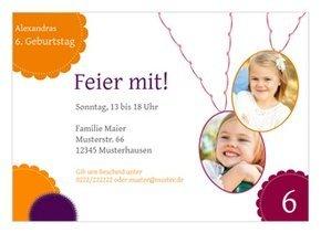 Einladung Kindergeburtstag Julia