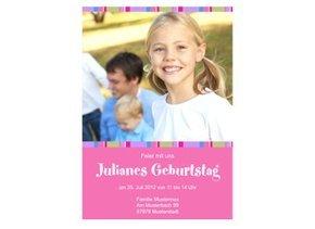 Einladung Kindergeburtstag Juliane