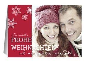 Weihnachtskarte Frohe Weihnachten 3