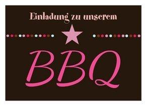 Einladung BBQ Party