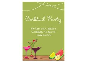 Einladung Cocktailparty Party Fun