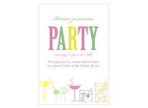 party einladungen online gestalten & bestellen, Einladung