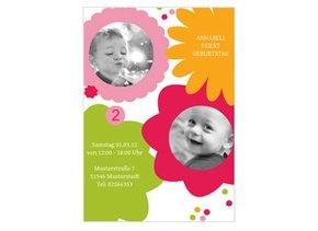 Einladung Kindergeburtstag Karen Bunt