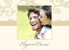 Fotobuch unsere Liebe Elegant Creme
