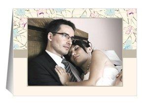 Danksagung Hochzeit Pink Blossom 1