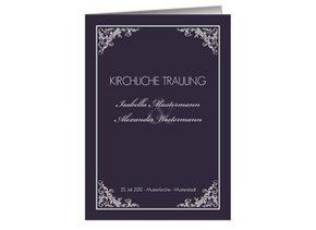 Kirchenheft Hochzeit Marlene