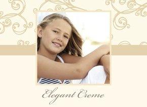 Fotobuch Mädchen Elegant Creme