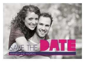 Save the Date Big Lines