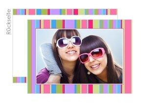 Grußkarte Hello Stripes 1