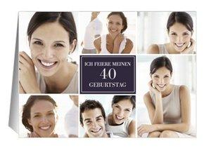 Einladung 40. Geburtstag Lilia