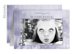 Einladung 18. Geburtstag Liliane 1