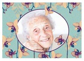 Einladungskarte 100. Geburtstag Fynn 1