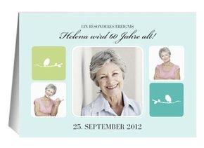 Einladung 60. Geburtstag Chastely Bird