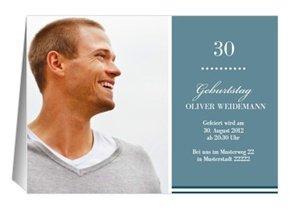 Einladung 30. Geburtstag Big B
