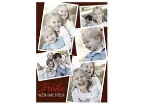 Weihnachtskarte Snapshots