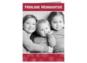 Weihnachtskarte Fröhliche Weihnachten  3