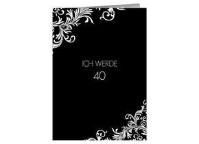 Einladung 40. Geburtstag Elizabeth