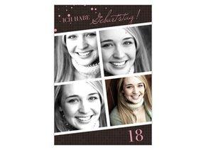 Einladungskarte 18. Geburtstag Brynn 2