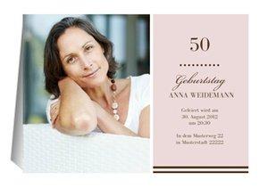 Einladung 50. Geburtstag Big G