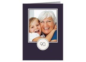 Einladung 90. Geburtstag Lilia