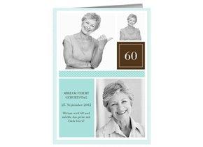 Einladung 60. Geburtstag Chastely