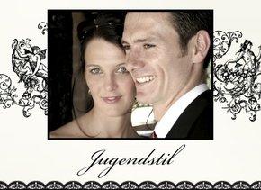 Fotobuch zur Hochzeit Jugendstil