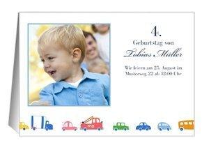 Einladung Kindergeburtstag Autos