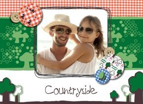 Fotobuch Urlaub Countryside