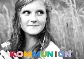 Einladung Kommunion Happy Rainbow