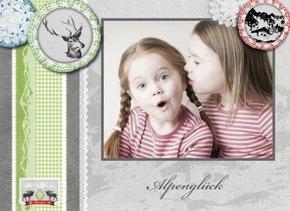 Fotobuch Mädchen Alpenglück