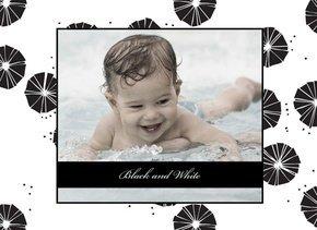 Fotobuch für Jungen Black & White