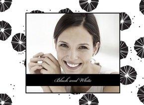 Fotobuch zum Geburtstag Black & White