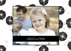 Fotobuch für Mädchen Black & White