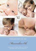 Dankeskarte Classic Baby