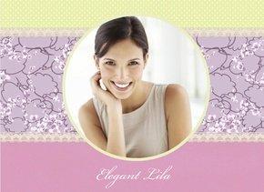 Fotobuch Romantische Designs Elegant Lila