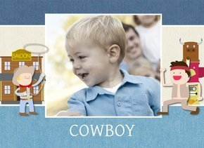 Fotobuch Tom Cowboy & Indianer 2