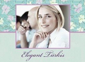 Fotobuch Elegant Türkis