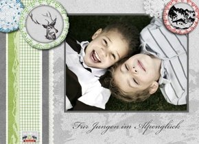 Fotobuch Jungen Alpenglück