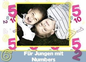 Fotobuch Jungen Numbers