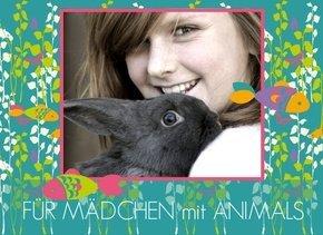 Fotobuch Mädchen Animals