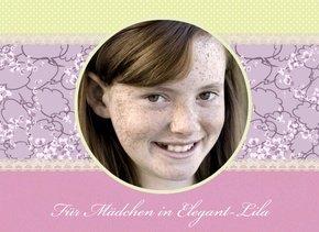 Fotobuch Mädchen Elegant Lila