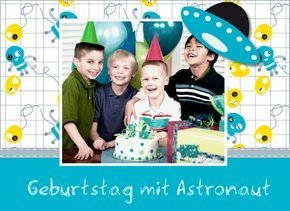Fotobuch Geburtstag Astronaut