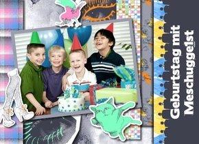 Fotobuch Geburtstag Meschugge 1st