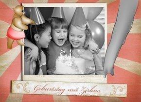 Fotobuch Geburtstag Zirkus