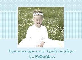 Fotobuch Kommunion und Konfirmation Bellablue