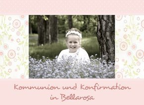Fotobuch Kommunion und Konfirmation Bellarosa
