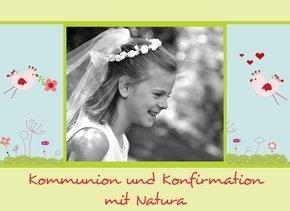 Fotobuch Kommunion und Konfirmation Natura