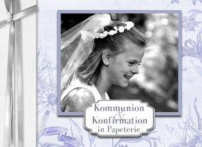 Fotobuch Papeterie Kommunion Konfirmation