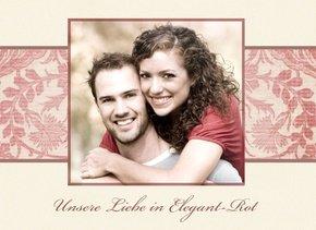 Fotobuch unsere Liebe Elegant Rot